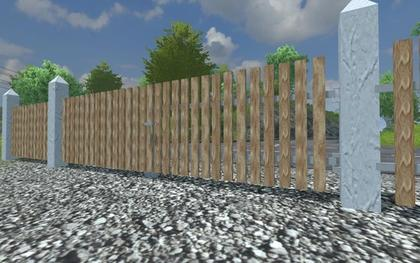 Placeable Fence Set