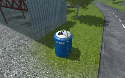 Placeable Fertilizer Tank