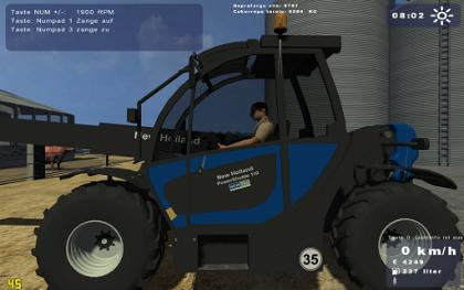 New Holland Telescopic