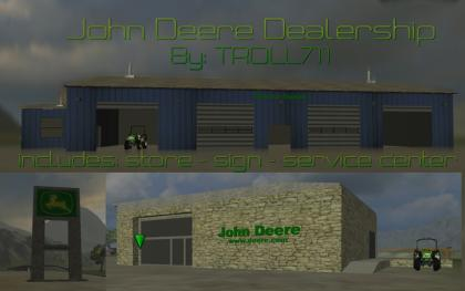 John Ddeere Dealership Store
