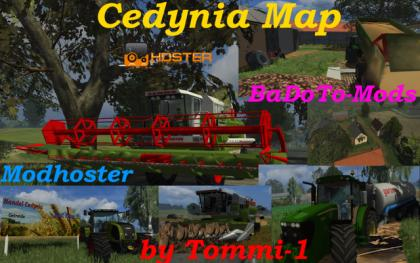 Cedynia Map by Tommi pack