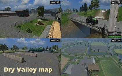Dry Valley Map v2 With BGA pack