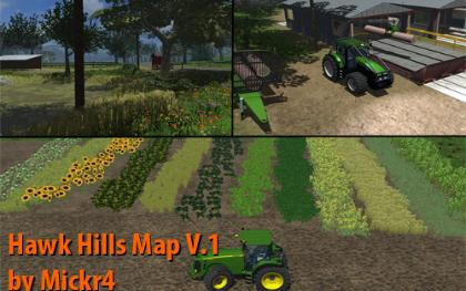 Hawk Hills Map v1 pack