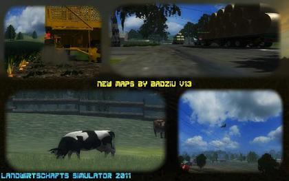 New Maps by Badziu v13 pack