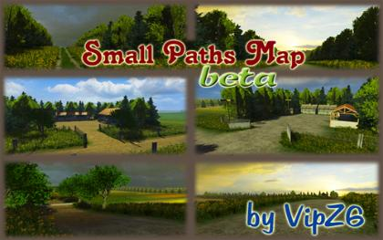 Small Paths Map