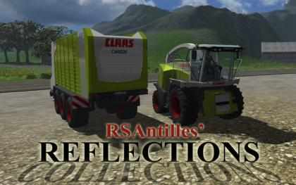 Claas Jaguar 980 and Cargo 9600 pack