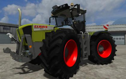 Claas Xerion 3800 Reflektion