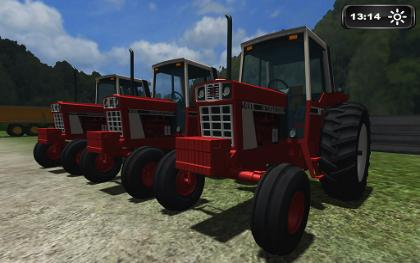 Case IH 86 Series pack