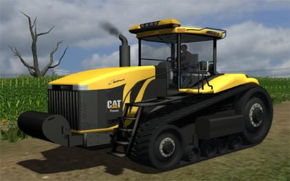 Cat Challenger MT875