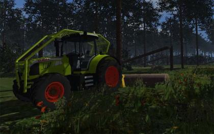 Claas Arion 520 Foresty