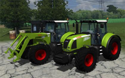 Claas Arion 640 Mav pack