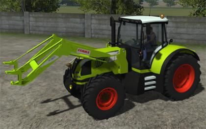 Claas Arion 640 pack