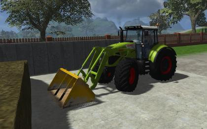 Claas Axion 850 Fl Mav
