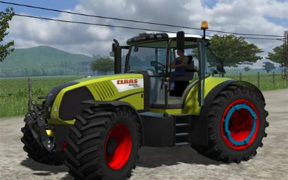 Claas Axion 850 FR