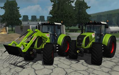 Claas Axion 850 MP