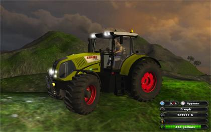 Claas Axion 850 Tif