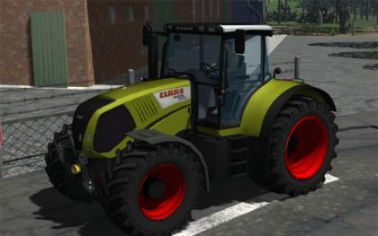 Claas Axion 850 v2