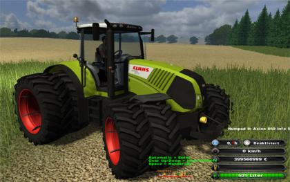 Claas Axion 850 v3 Gear