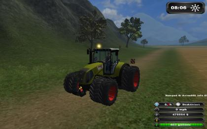 Claas Axion 850 v3