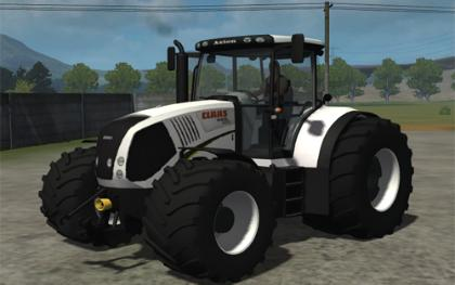 Claas Axion 850 Special Edition