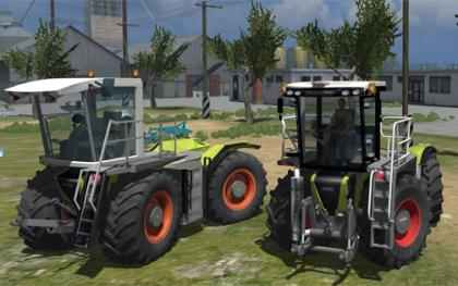 Claas Xerion Saddle pack