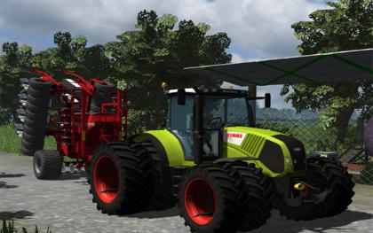 Claas Axion 850 v31 Gear
