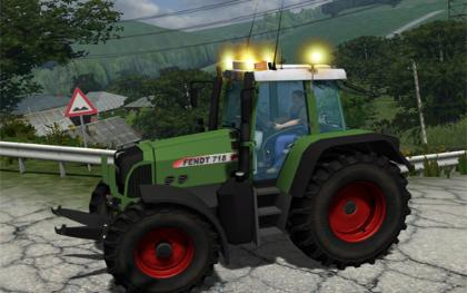 Fendt 718 Vario Highspec