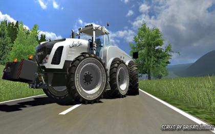 Fendt Trisix White Chrom