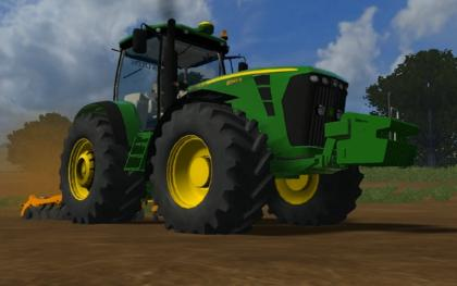 John Deere 8345r UK Edition
