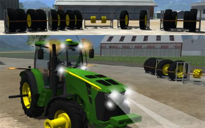 John Deere 8360r v2 Dual Wheel pack