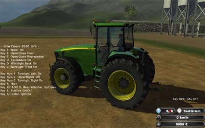John Deere 8530 fixed