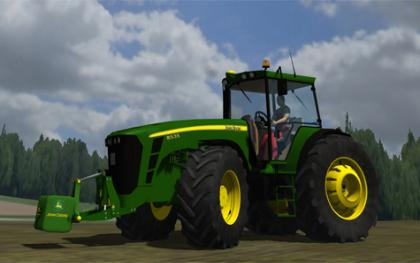 John Deere 8535 by Hewaaa With Dourseplay