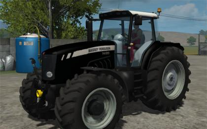 Massey Ferguson 7499 Black Beauty