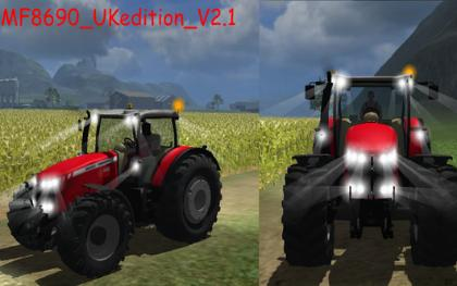 Massey Ferguson 8690 UK pack