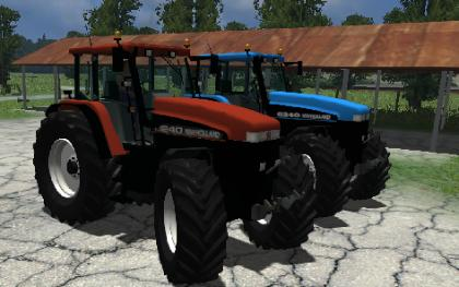 New Holland G 240 pack