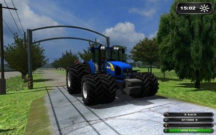 New Holland T8050 v Power