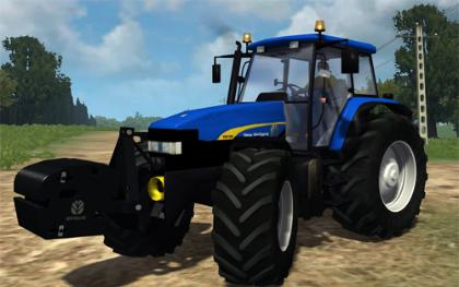 New Holland TM 190 AP