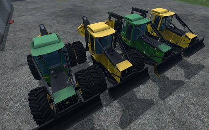 JohnDeere Skidder pack