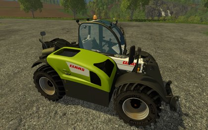 Claas Scorpion EditionMichelin