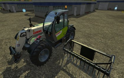 Claas Scorpion 6030CP pack