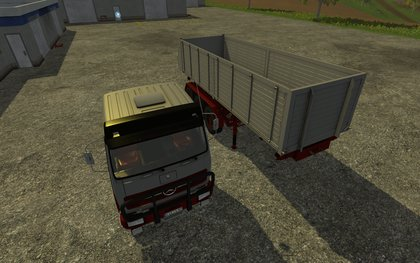 MB NG 1632 4x4 Kipper Pack