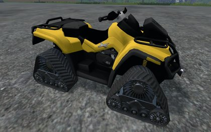 CanAM 1000XT apache track