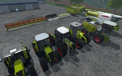 Claas v1 pack