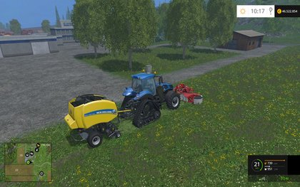 Baler Add Grass