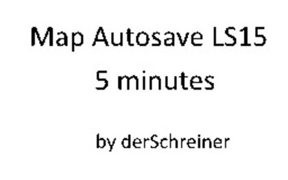 Map Autosave