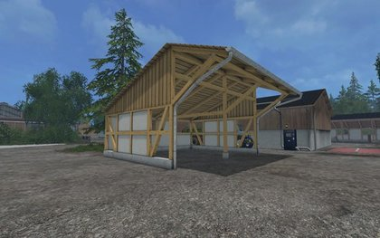 4 placeable Sheds