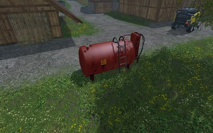 Placeable Gas Tank