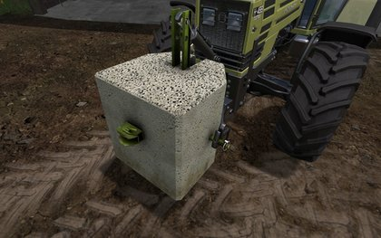 Concrete Weight 500kg