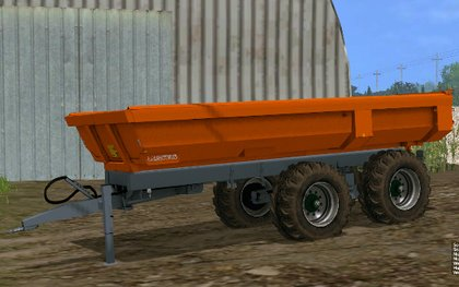 Laumetris construction trailer PTL - 10 S