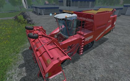 Grimme Tectron415 wide